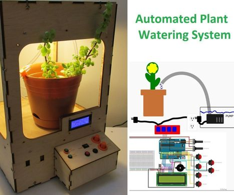 Automated Plant Watering System | Open Source Hardware News | Scoop.it