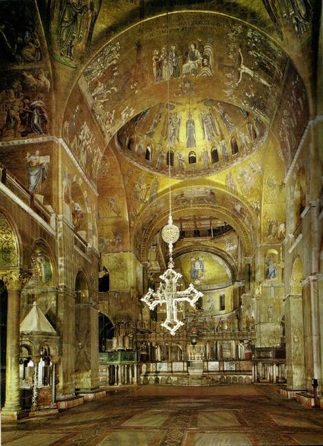 Basilica di San Marco, nave central. Venezia, Italia | Mis imágenes | Scoop.it