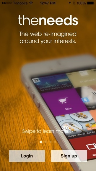 TheNeeds Brings Its Personalized News Reader To iPhone - TechCrunch | Social Media | Scoop.it