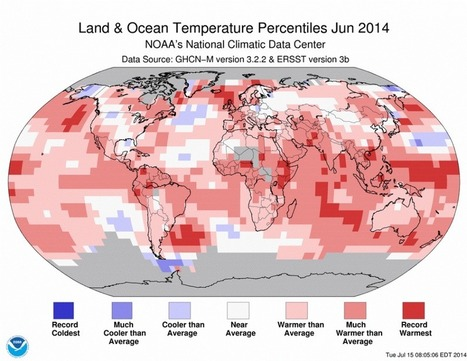 World In Hot Water: Screaming Sea Surface Temperatures Push Globe To Hottest June Yet | Homo Agilis (Collective Intelligence, Agility and Sustainability : The Future is already here) | Scoop.it
