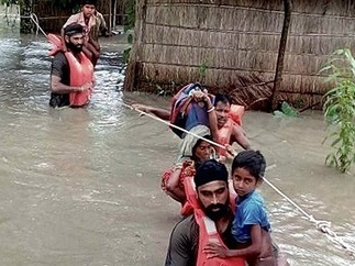 Flood situation continues to be grim in Assam, Arunachal Pradesh | Risques naturels et technologiques infos | Scoop.it
