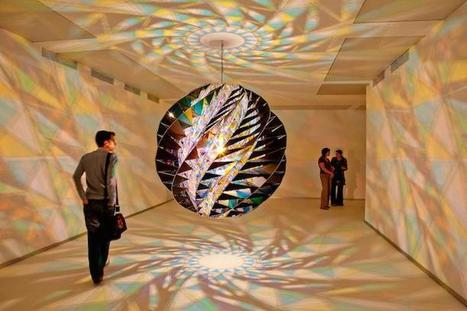 Mesmerizing Kaleidoscopic Glass Installations by Olafur Eliasson | Inspiration: Imagine. See the possibilities. | Scoop.it