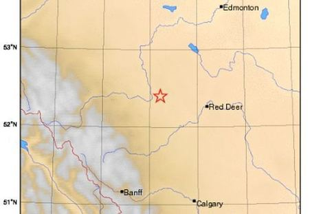 Earthquake hits northeast of Rocky Mountain House, power outages reported | Sciences Extra | Scoop.it