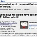 OH, WI, NJ, & FL Governors Lied to Public to Kill High-Speed Trains | Public Education in the 21st Century | Scoop.it