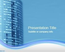 Office Building PowerPoint Template | Free Powerpoint Templates | PROJECT MANAGEMENT | Scoop.it
