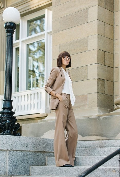 How to Style Pantsuit Outfit Nowadays » Celebrity Fashion, Outfit Trends And Beauty News | Fashion Style And Beauty Tips | Scoop.it