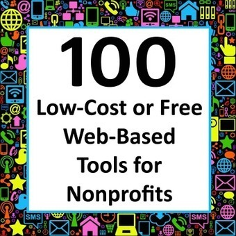 100 Low-Cost or Free Web-Based Tools for Nonprofits | Web and technology news | Scoop.it