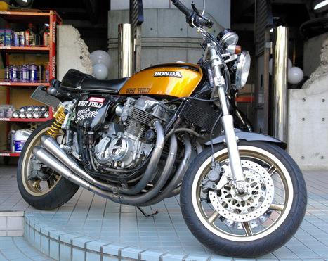 Honda CB 750 by House Rockers | Vintage Motorbikes | Scoop.it