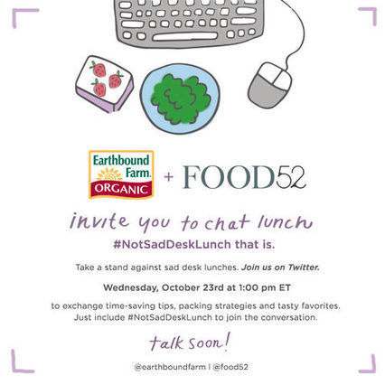 A Not Sad Desk Lunch Twitter Chat with Earthbound Farm | DC Health | Scoop.it