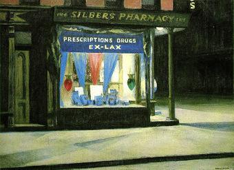 Ceci n'est pas un poème.: Hopper avec Nicolas Bleusher.   Les vases communicants   Scoop.it