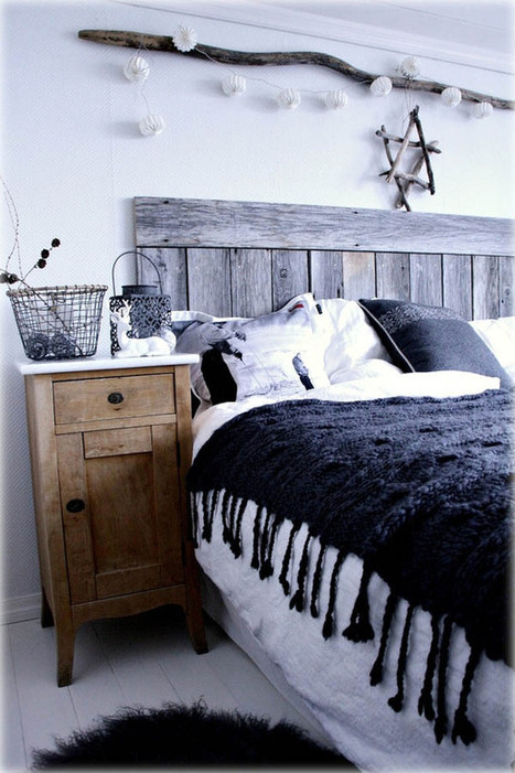 66 Inspiring ideas for Christmas lights in the bedroom   Home Staging   Scoop.it