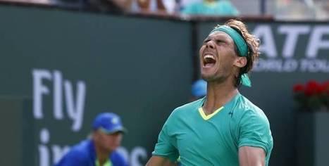 Tennis - ATP - Indian Wells : Nadal jusqu'au bout - L'Equipe.fr | Tennis , actualites et buzz avec fasto-sport.com | Scoop.it