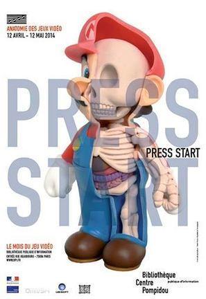 Press Start, Anatomie des jeux vidéo au Centre Pompidou   Jeux vidéo actu   Scoop.it