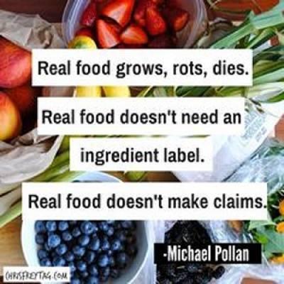 Real Food | Radiant Health | Scoop.it