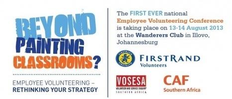 National Employee Volunteering Conference | Global examples of corporate volunteering & workplace giving | Scoop.it