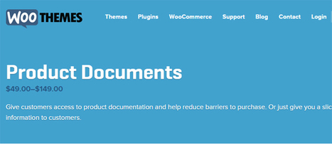 Woocommerce Product Documents | Download Full Nulled Scripts | WooCommerce Extensions Nulled Download | Scoop.it
