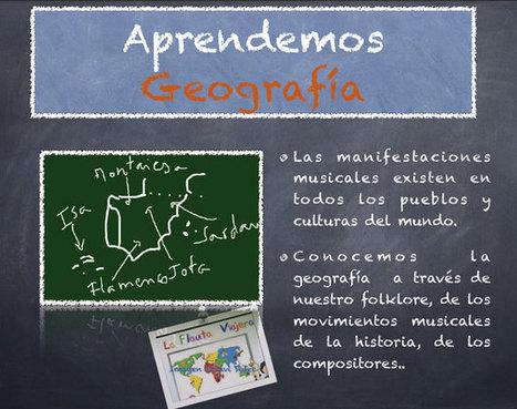 ¿Qué aprendemos en clase de música? | Nuevas tecnologías aplicadas a la educación | Educa con TIC | Las TIC y la Educación | Scoop.it