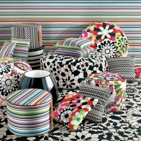 Tissu Piou Piou Lalie Design - Tissus D Ameublement Design - Framos.Info