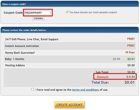 """HostGator 1 Cent Coupon Code 2014 """"FREEHH994OFF""""   Hosting Guide   Scoop.it"""