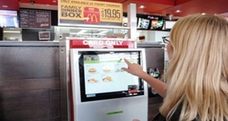 Why restaurant ordering kiosks won't replace employees | SocialMediaRestaurants.com | Scoop.it