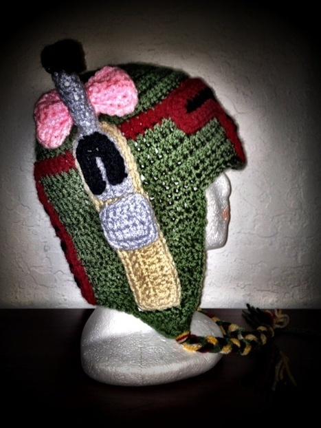 Star Wars Bounty Hunter Boba Fett Inspired Crochet Hat | VIM | Scoop.it