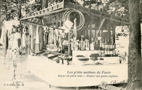 Carte Postale -Les P'tits Métiers de Paris -Plaisir des enfants | Cartes Postales Anciennes | GenealoNet | Scoop.it