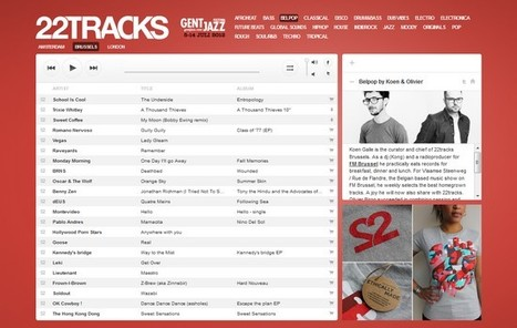 22tracks Bruxelles : 1 an et un succès monstre   Musical Freedom   Scoop.it