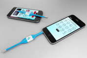 Kinsa launches a smartphone-connected thermometer to create a real-time health map   Expertpatient   Scoop.it