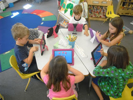 Mrs. Davison's Kindergarten: What We Are Doing With iPads! | 21st Century Learning and Thinking | Scoop.it