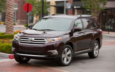 Toyota recalls more than 2,000 Highlander cars of 2013 make | Toyota Cars India | Avanza, Fortuner, New Toyota Car | Toyota Cars In India | Scoop.it