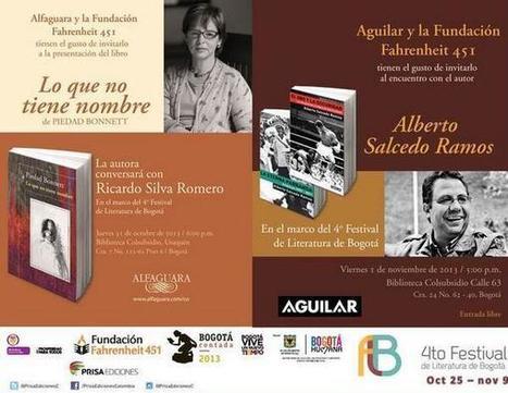 Plan literario con Piedad Bonnett y Alberto Salcedo | Cultura Literaria | Scoop.it