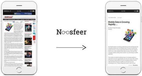 Noosfeer, para leer artículos de forma simplificada | Educacion, ecologia y TIC | Scoop.it