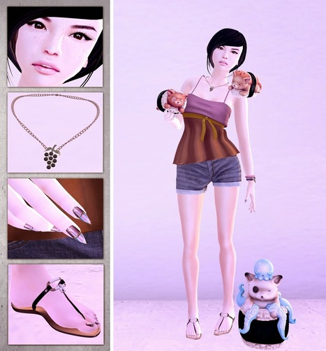 Free SL Couture: Style No. 167 | Finding SL Freebies | Scoop.it