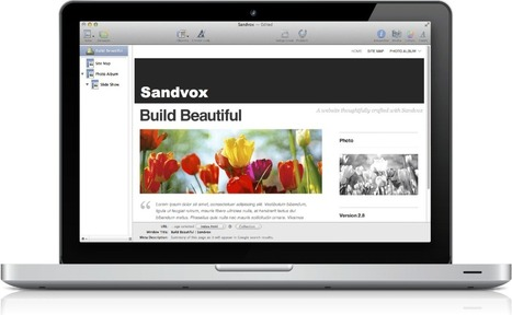 Sandvox: Website creation for Mac, that's as easy to use as the Mac | Useful Class Apps | Scoop.it