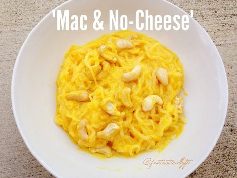 Homemade Macaroni 'n' No Cheese | Vitacost.com Blog | Recipes | Scoop.it