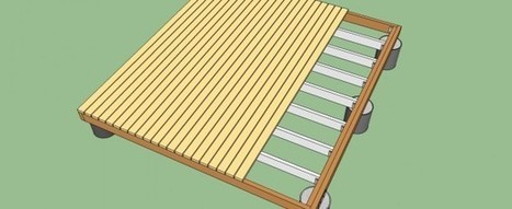 How to build a deck on the ground | HowToSpecialist - How to Build, Step by Step DIY Plans | Deck Projects | Scoop.it