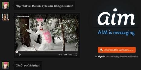 Il Nuovo AIM Punta sulle Videoconferenze e Strizza l'Occhio a Skype | Fare Videoconferenze | Scoop.it