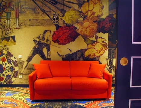 Lost in Arles: The Hotel Jules Cesar redesigned by Christian Lacroix - Arles | Hôtel Jules César | Scoop.it