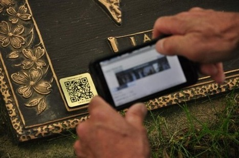High-tech tombstones let loved ones live on, virtually - Tech News | The Star Online | QR Code Cemetery | Scoop.it