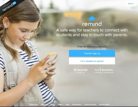 Simple Reminder App Keeps Students, Parents on Track with Schoolwork | Tech Learning | Edtech PK-12 | Scoop.it