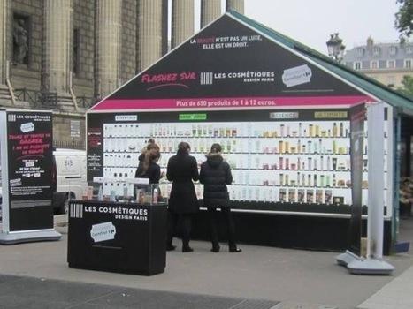 Vitrine virtuelle, en plein cœur de Paris, pour Carrefour | CRAKKS | Scoop.it