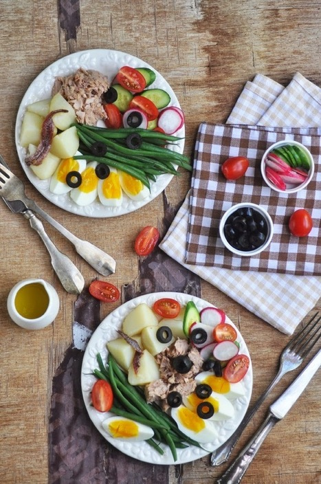 #HealthyRecipe : Anja's Food 4 Thought: Salade Niçoise | The Man With The Golden Tongs Goes All Out On Health | Scoop.it