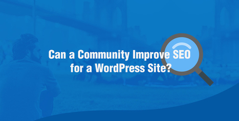 Can a Community Built Around Your WordPress Site Improve SEO? | SEO Tips and Guides | Scoop.it