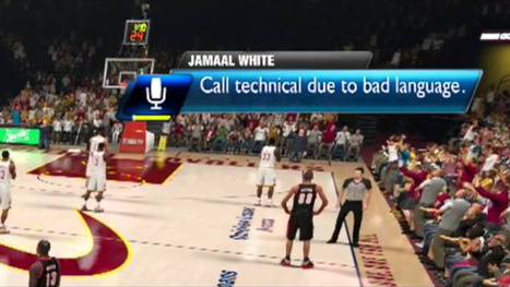 Don't Swear While Playing NBA 2K14; You'll Get A Technical Foul | Creatively Awesome Tech | Scoop.it