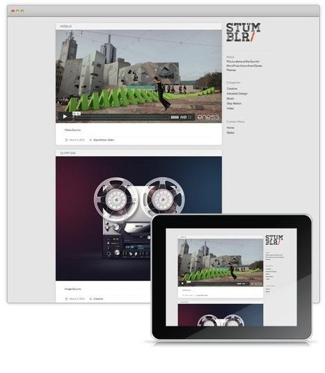 7 thèmes Tumblr-like gratuits pour Wordpress | Web & SEO | Web & SEO | Scoop.it