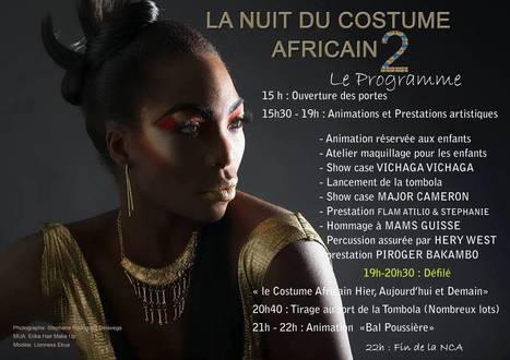 La nuit du costume africain 2éme Édition ! | Événement | Scoop.it