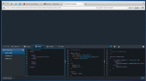 Mozilla Firefox sempre più il browser ideale per gli sviluppatori | Risorse per Web Designers | Scoop.it