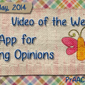 Video of the Week: An App for Giving Opinions | Communication and Autism | Scoop.it