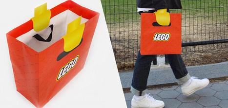 Un sac créatif qui donne l'illusion d'avoir des mains de personnages LEGO | Art et Publicité | Scoop.it