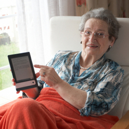 Seniors Gravitate Towards eBooks | Good E-Reader - ebook Reader and Digital Publishing News | eBooks in Libraries | Scoop.it